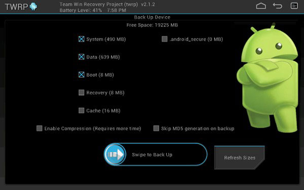 how to flash the twrp recovery