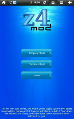 root tool for android phone like z4root