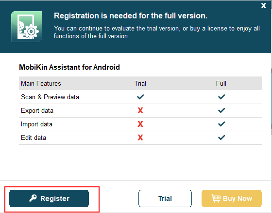how to register software for win