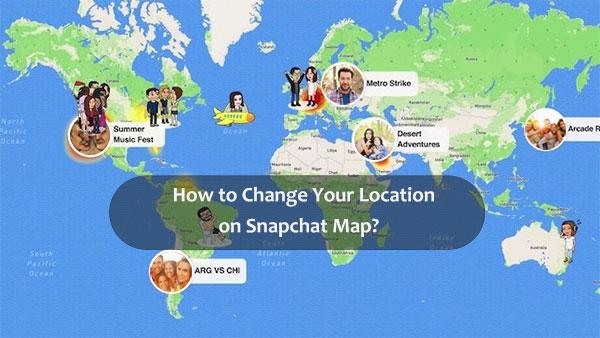 change location on snapchat