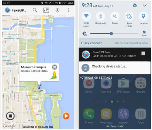 how to spoof in pokemon go on android via fakegps free