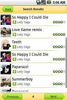 Assign ringtones android