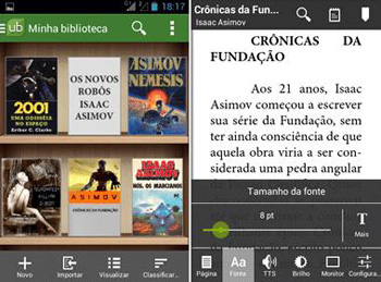 Top 5 Free eBook Readers for Android Smart Phone