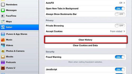 Guide To Delete Google History On IPad Air, Mini, The New IPad