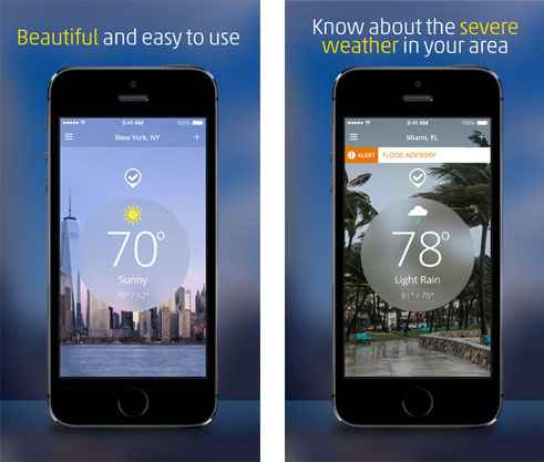 best weather app iphone best weather apps for iphone 6 5s 5 4s 4 13654