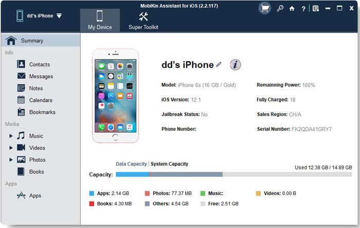 iPhone Data Transfer