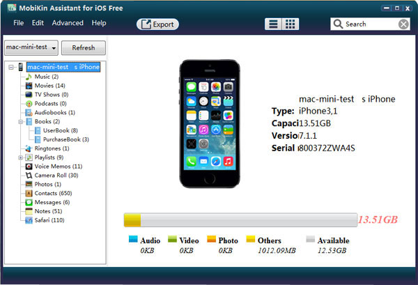 iPhone File Browser for Windows/Mac