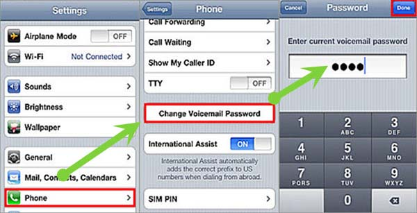 how to change voicemail message on iphone how to reset iphone voicemail password for free 19900