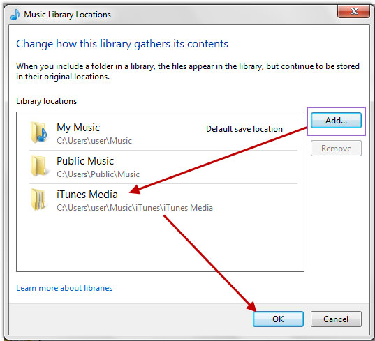 how to get to itunes music folder on mac